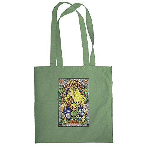 Texlab–Window Link–sacchetto di stoffa Oliva