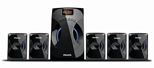 Philips SPA4040B/94 Multimedia Speakers System (Black)