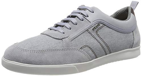 Geox Herren U Walee a Sneaker, Grau (Lt Jeans C4051), 42 EU