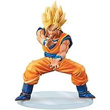 Banpresto Dragon Ball Z 5.1-Inch Super Saiyan Goku Dramatic Showcase Figure, 1st Season Volume 2 by Banpresto