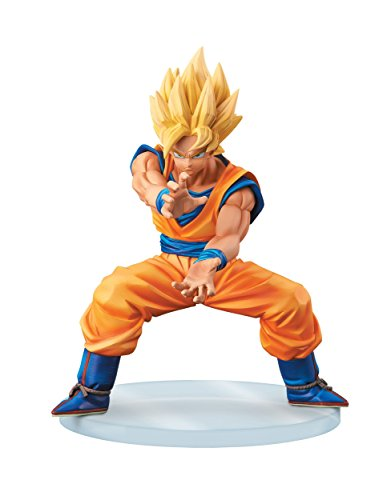 Banpresto Dragon Ball Z 5.1-Inch Super Saiyan Goku Dramatic Showcase Figure, 1st Season Volume 2 by Banpresto