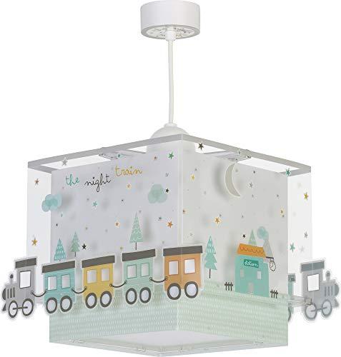 LED Kinderlampe Fahrzeuge Eisenbahn Wagon Zug train 63532 warmweiß 1050lm Mädchen & Jungen Kinderzimmerlampe Deckenlampe