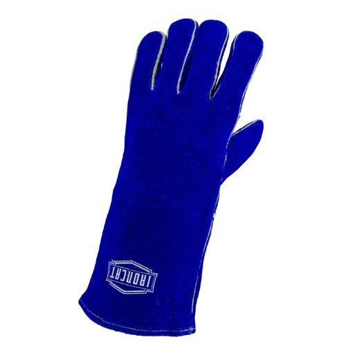 ironcat 9041Isolierter leicht Select Rindsleder Schweißen Handschuhe, großer (1Paar) (Handschuhe Stick-schweißen)