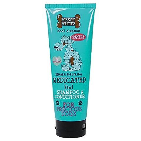 MM Shampoo Sensitiv frischer Duft 250 ml gute Ergiebigkeit, eingearbeiteter Conditioner macht das Fell sofort weich, wunderbar glänzend und leicht kämmbar
