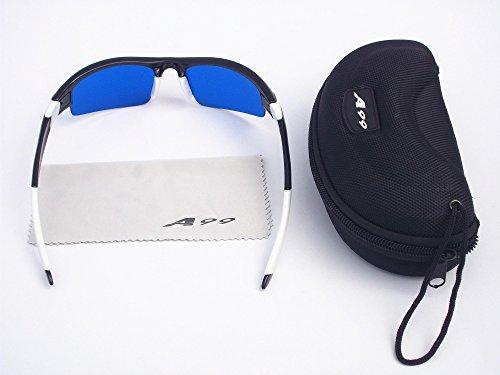 c31075c9145 e-bw A99 Golf Eagle Eye Lunettes de Golf Ball Finder New avec étui Noir