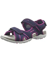 Geox J82E2B 000BC Sandalo Velcro enfant Bleu 27