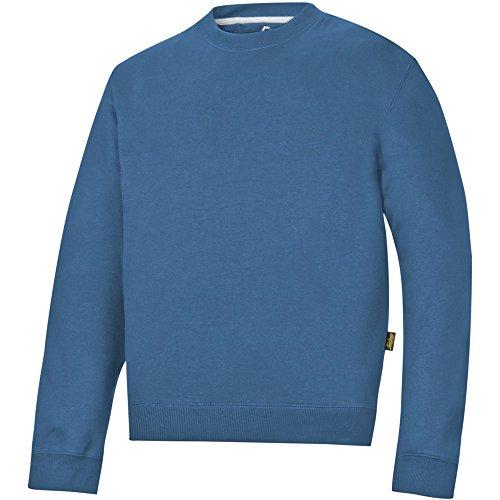 Snickers - Sweat-shirt -  Homme Bleu Bleu XS Océan Bleu