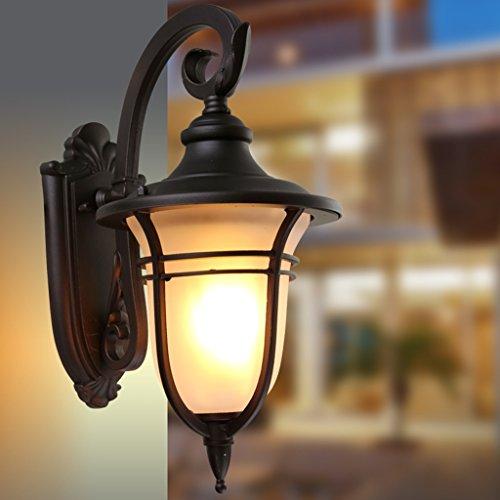 Villa mur Lampe de mur extérieur étanche Garden Applique Applique Balcon étanche extérieur Applique Aisle Applique