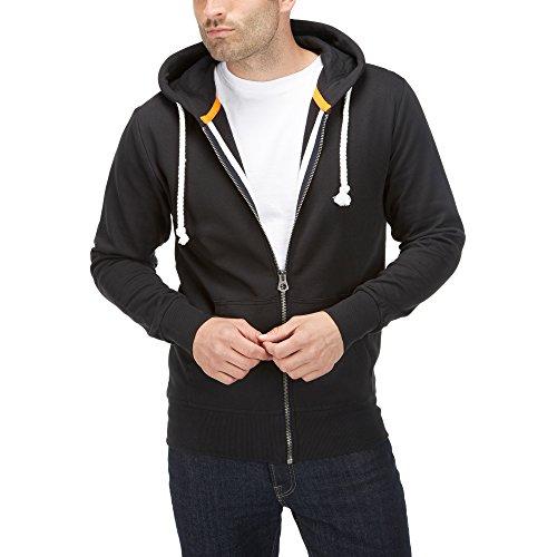 Charles Wilson Essential Zip Hoody (Black, X-Large)