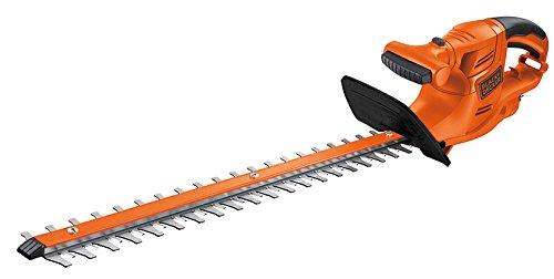 BLACK+DECKER GT4550CAKIT-QS Tagliasiepi a Filo 450 W, Lunghezza lama 50 cm + Prolunga 10 m