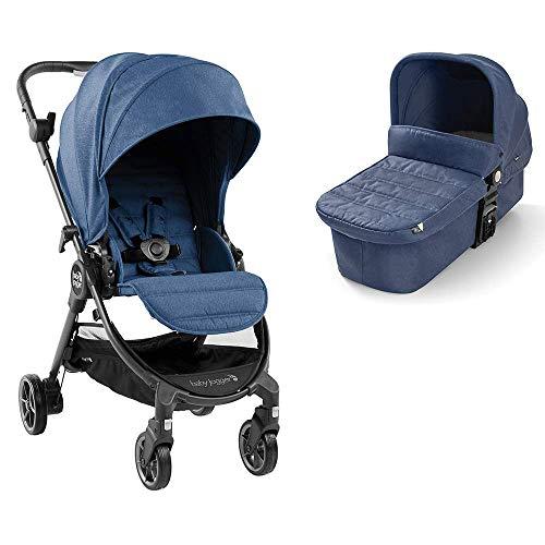 Baby Jogger City Tour LUX DUO Cochecito de bebé desde nacimiento hasta 20,5 kg, Azul