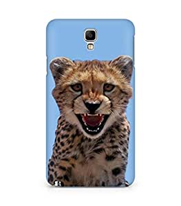 Amez designer printed 3d premium high quality back case cover for Samsung Galaxy Note 3 Neo (Little Leopard)
