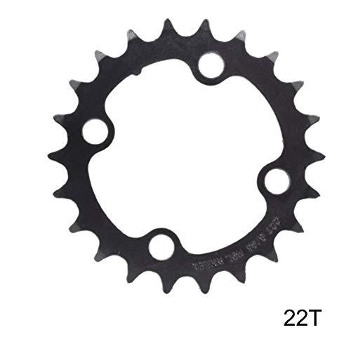 Goodevening Kettenblätter Geschwindigkeit Zahnscheibe Mountainbike Hohlrad Patchdiskette 22T 32T 42T Zahn 8/9/24/27