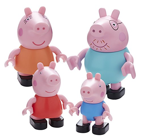 Image of Peppa Pig Family Construction Figure Pack (Multi-Colour)