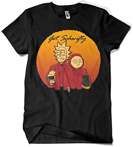 199-Camiseta Rick y Morty Get Schwifty Daft Punk (Legendary P)