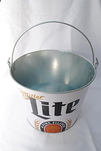 miller-lite-ohio-it-is-miller-time-beer-bucket-galvanised-tin-with-handle
