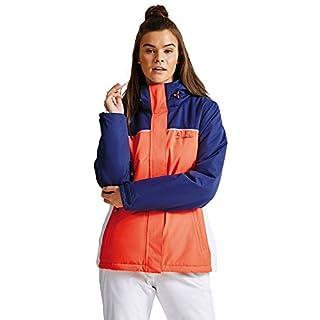 Dare2B Women's Ingress Waterproof Insulated Jacket, Fiery Coral, 12