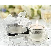 Teacups and Tealights Miniature Porcelain Tealight Holders - 48 by KateAspen preisvergleich bei billige-tabletten.eu