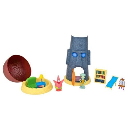 Toy - Spongebob - Bikini Bottom Playset by Simba Smoby