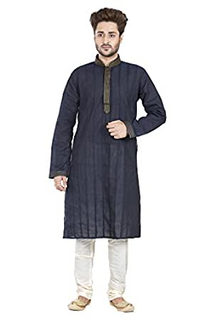 Gentlemen Regular Fit Kurta Set For Men