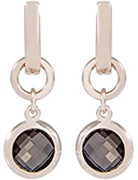 Bronzallure - Boucles d'oreilles pendantes - Bronze - Quartz - WSBZ00081.S