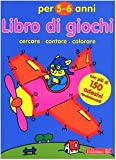 Libro di giochi. Cercare, contare, colorare. 5-6 anni