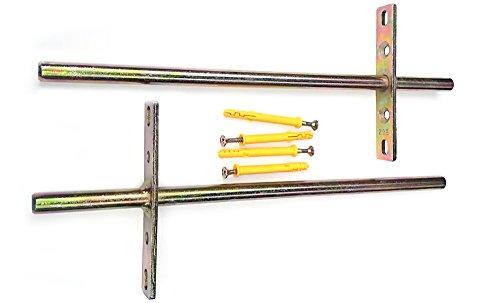 /soporta hasta 10/kg 2/x soportes para fijaci/ón oculta estante flotante soporte de pared oculta apoyo /Ø 9/x 140/mm/