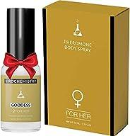Pheromones For Women (GODDESS) Body Spray - Elegant, Ultra Strength Organic Human Pheromones Fragrance Body Sp