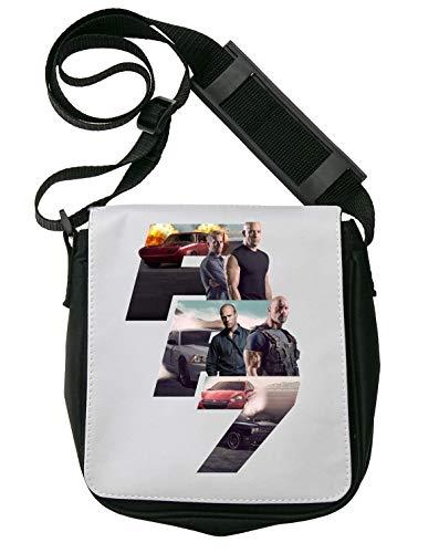 Fast and Furious Design Schultertasche Herren Umhängetaschen Damen Taschen Unisex Shoulder Bag -