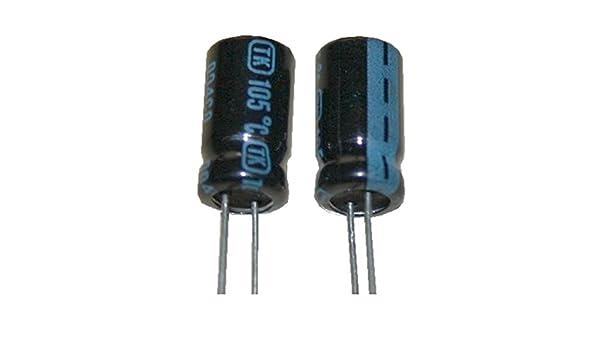 20x Elko Kondensator radial 100µF 100V 105°C ; EKE00FE310L ; 100uF