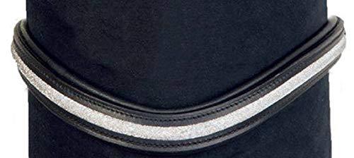 HKM 4000315693207 Stirnband -Glitzer-9171 schwarz/silberVollblut