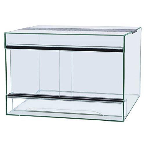 Unbekannt Glas Terrarium 100x40x50 Stärke 4mm für Schlangen, Bartagamen, Gekkos