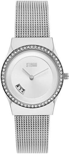 Storm London CYRO Crystal Silver 47385/S Reloj de Pulsera para Mujeres