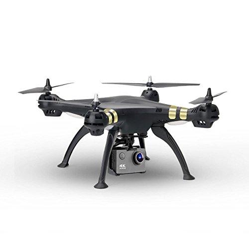 KYOKIM Drone De Control Remoto Y Móvil App Control Fotografía Aérea De Transmisión Síncrona 50 * 50 * 18cm Distancia De Control Remoto: 1000 Metros,Black
