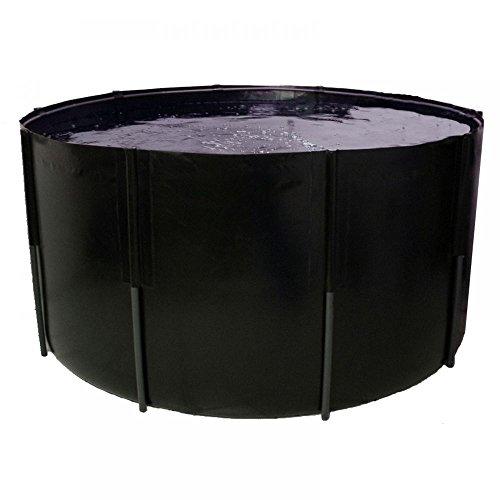 Pliable Bac 250 x 100 cm, 4900 L, noir, koibecken