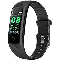 Lixada Armband Echt-zeit Herz Rate Monitor Fitness Sport Tracker Blutdruck Sauerstoff Monitor Armband Sport & Unterhaltung Schrittzähler