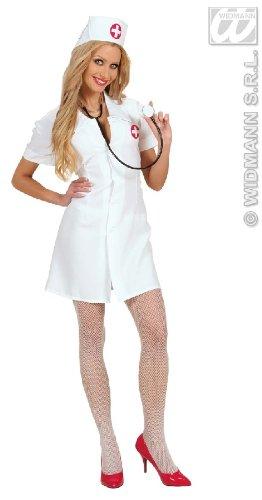 Arzt Frauen Für Halloween Kostüm (KOSTÜM - KRANKENSCHWESTER - Größe 34/36)
