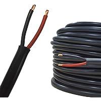Auprotec® Schlauchleitung Fahrzeugleitung FLYY 2x4,0 mm² (5m Rundkabel)