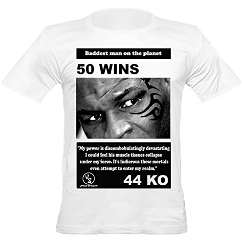Urban ShaolinMike Tyson Fitted T-Shirt inspiriert, Medium, (Mike Kostüme Tyson)