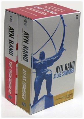 Book's Cover ofAyn Rand Box Set