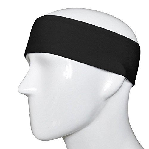 Hairmates Activity Headbands for Running/Jogging/Salons/Gyms/SPA/Sports/tennis/Yoga/Aerobics (Black)  available at amazon for Rs.99