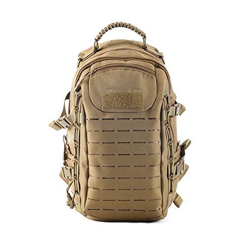 Inveroo Taktischer Rucksack Laser Cut Molle Pals Dragon Egg Bag 25l Sport Bag Military Rucksack Wandern Outdoor-Bags EDC Taktischer Rucksack (Dragon Bag Egg)