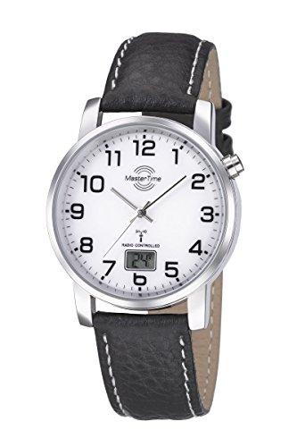 Master Time Funk Basic Series Herrenuhr MTGA-10294-12L, Leder Armbanduhr