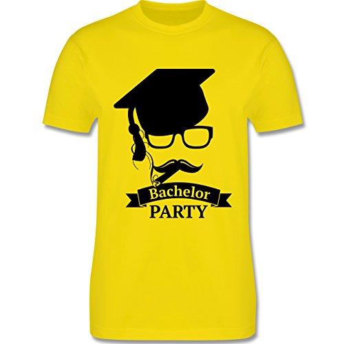 Abi & Abschluss - Bachelor Party Abschluss Studium - Herren Premium T-Shirt Lemon Gelb