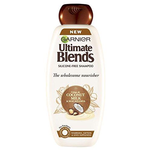 Garnier Ultimate Blends Coconut Milk Dry Hair Shampoo, 400 ml