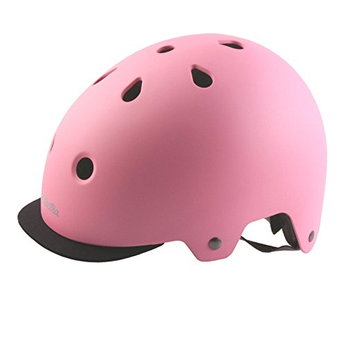 Electra Bicycle Electra Fahrrad Helm Solid Color Serie Fidlock ABS Innenpolster waschbar, EHelmetSC, Farbe Rose Quartz, Größe S