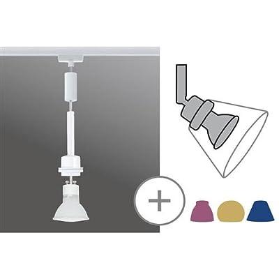 Pendel 1-flammig Basic Leuchtmittel: 1 x Halogen Reflektorlampe / GZ10 / 40W / 230V, Farbe: Weiß von Paulmann - Lampenhans.de
