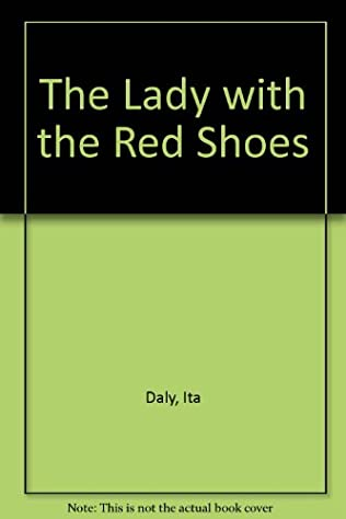 book cover of The Lady with the Red Shoes