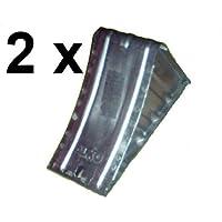 2 x ALKO Unterlegkeil Metall UK36 Hemmschuh AL-KO DIN76051