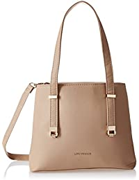 Lino Perros Women's Handbag (Beige) - B076HFJPT4